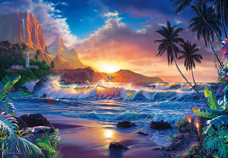 Giant Wall Mural Photo Wallpaper 366x254cm Dream Fantasy Tropical Beach Scene