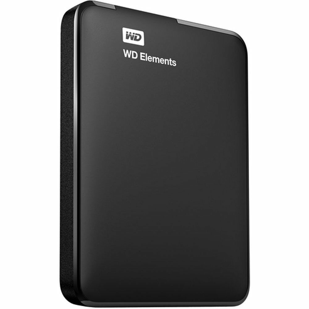 wd elements 750gb portable external hard drive pc mac wdbuzg7500abk usb 3 0 ebay. Black Bedroom Furniture Sets. Home Design Ideas