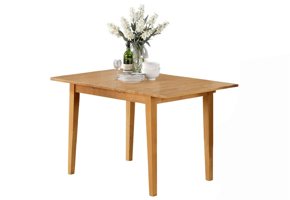 light wood kitchen table norfolk dinette kitchen table without chair in light oak 7019