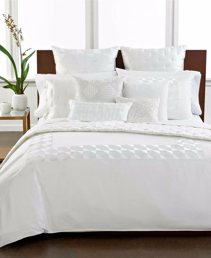 Hotel Collection Finest Bedding Embroidered Frame Full
