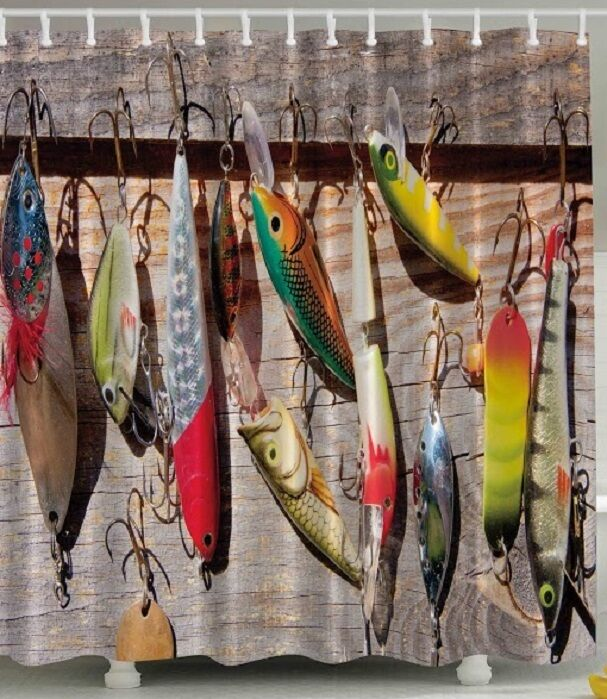 Curtains Ideas Fish Shower Curtain Hooks Inspiring