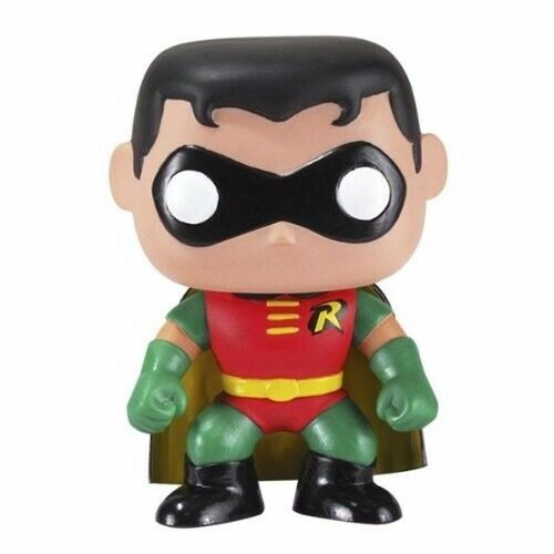 Funko Pop Superstore Toys Comics Collectibles: DC Comics Batman 02 Robin Funko Pop! Heros Vinyl Figure