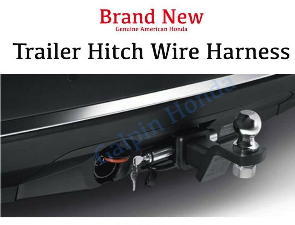 Honda Pilot Hitch Wiring Explore Diagram On The Net Trailer Adapter Genuine Oem Wire Harness 2016 2015 2014