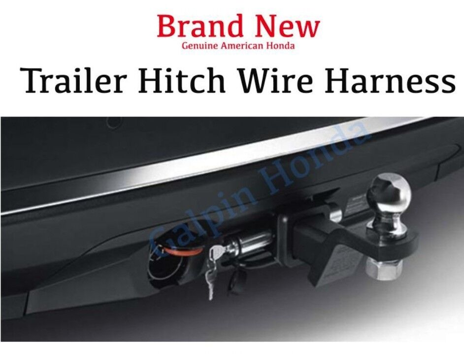 Genuine OEM Honda Pilot Trailer Hitch Wire Harness 2016-2019  (08L91-TG7-100) | eBay