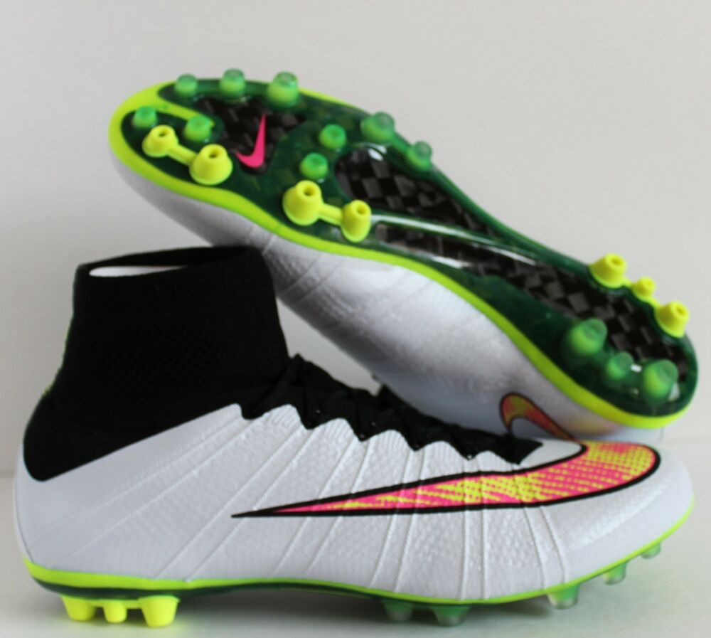 nike mercurial superfly ag r white volt black hyper pink. Black Bedroom Furniture Sets. Home Design Ideas