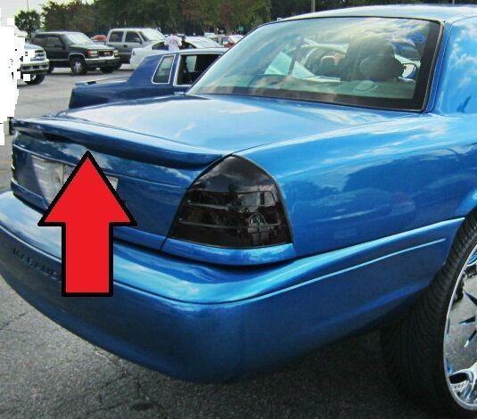 2008 Ford Crown Victoria Exterior: FOR FORD CROWN VICTORIA UN-Painted Marauder Style Rear
