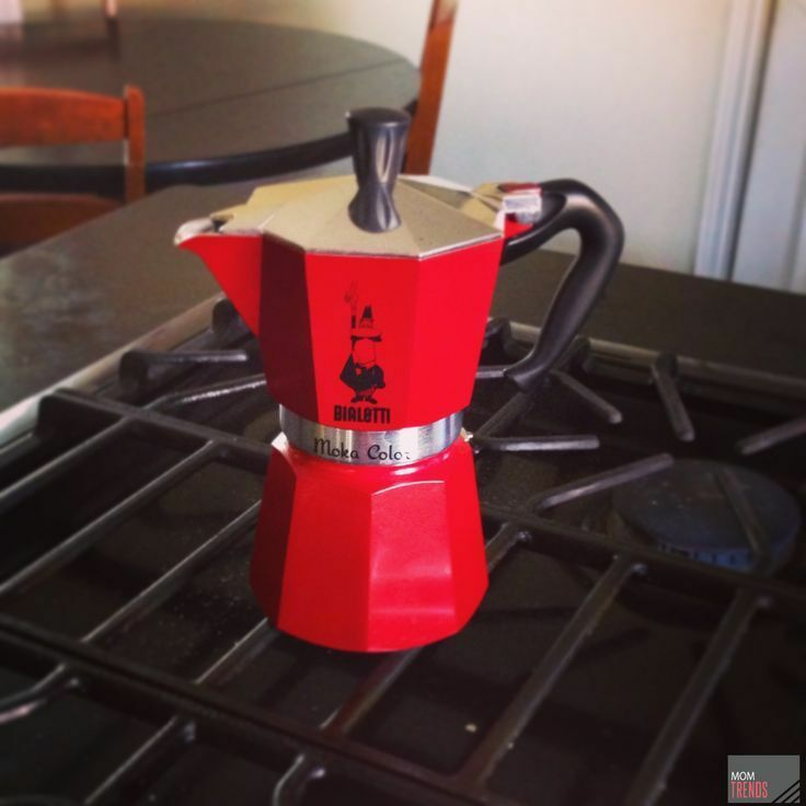 Bialetti Mokona Coffee Maker Red : Bialetti Moka COLOR RED Express 06905 Stovetop Espresso Maker Pot Coffee 6 CUP eBay