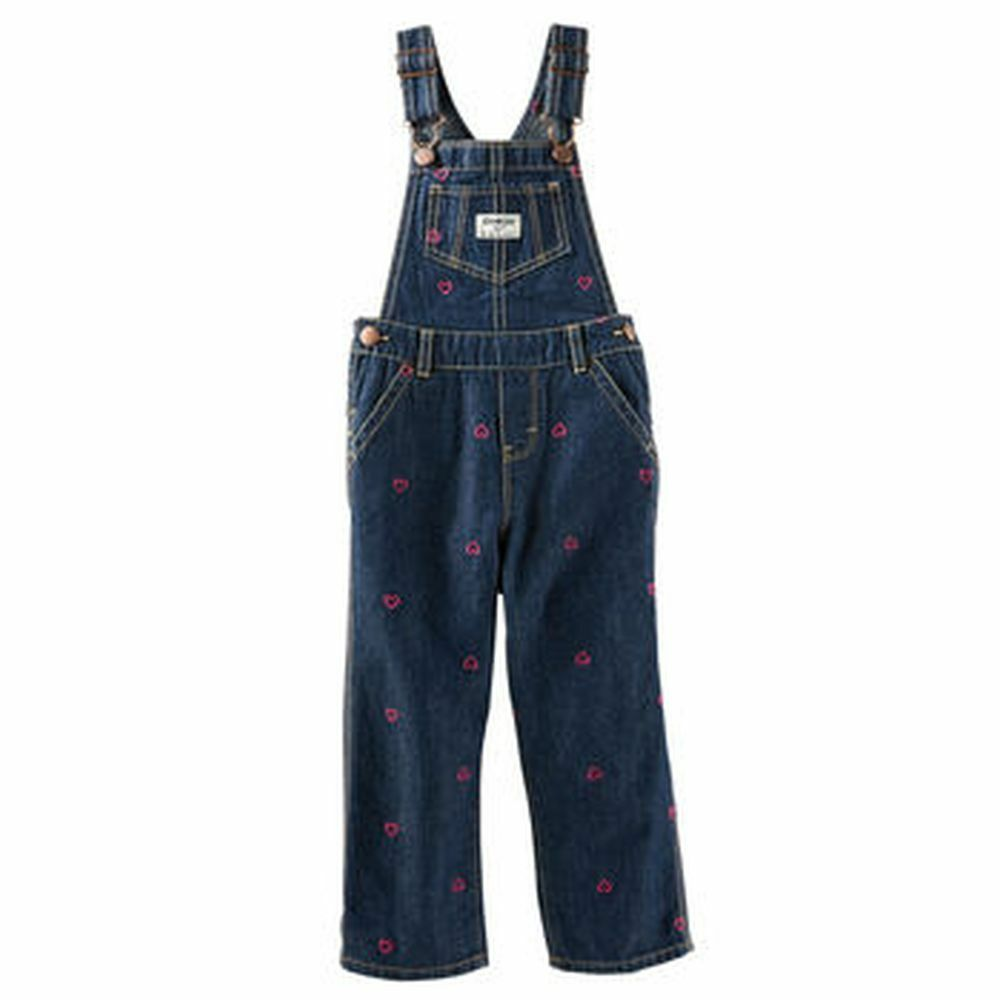 Blue jean hearts overalls nwt 18m 24m 2t 3t 4t 5t toddler girl ebay