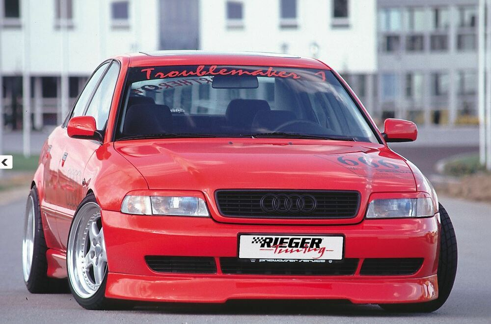 Rieger Frontspoilerlippe F R Audi A4 B5 11 1994 1998