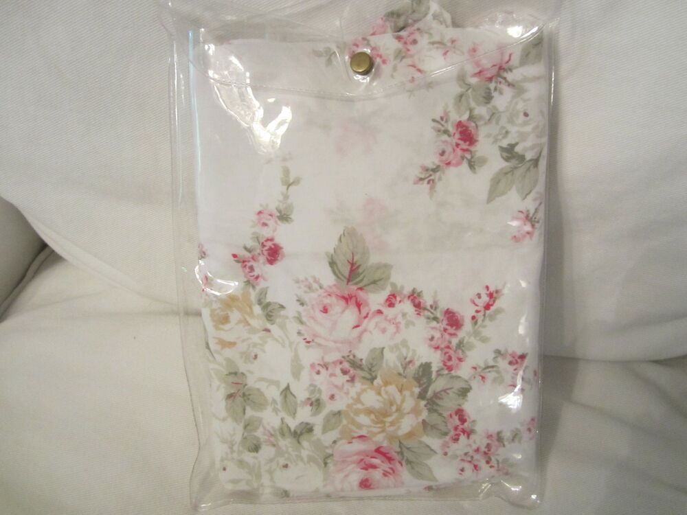 rachel ashwell shabby chic roseblossom white pink pillow sham you choose size ebay. Black Bedroom Furniture Sets. Home Design Ideas