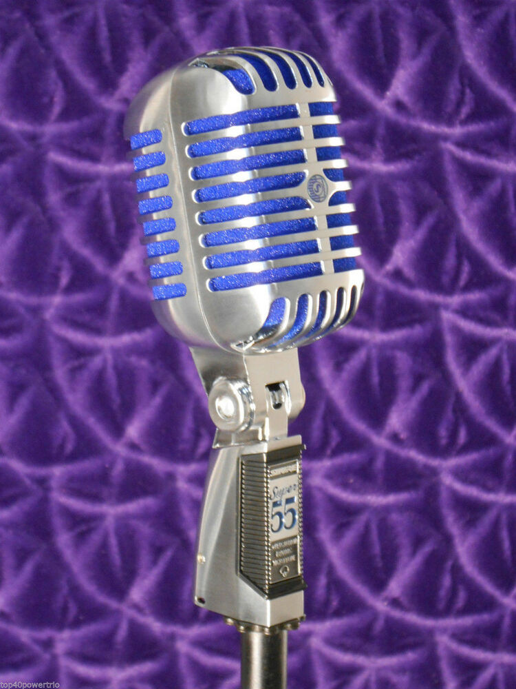 Shure Super 55 Deluxe Vocal Microphone New In Box Ebay