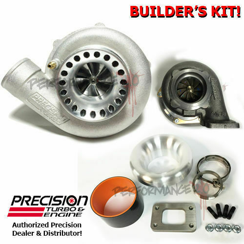 Precision Turbo 6870 Gen 2: Precision GEN2 6466 Billet CEA Ball Bearing T3 Vband .82AR