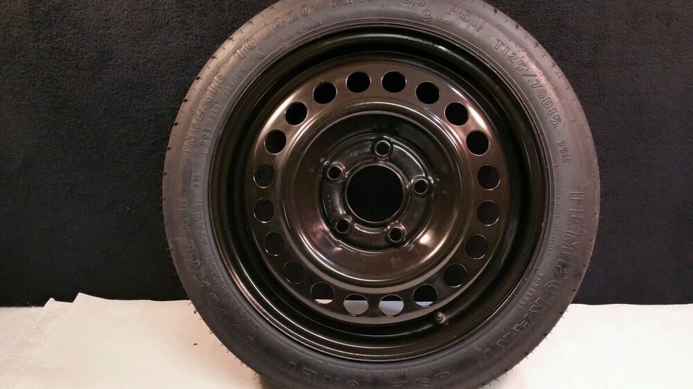 2002 oldsmobile intrigue oem spare tire donut emergency spare wheel ebay. Black Bedroom Furniture Sets. Home Design Ideas