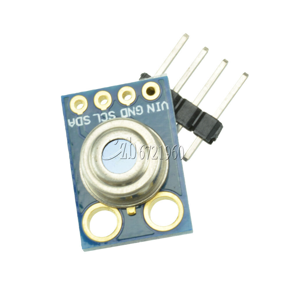 Mlx contactless temperature sensor module for arduino