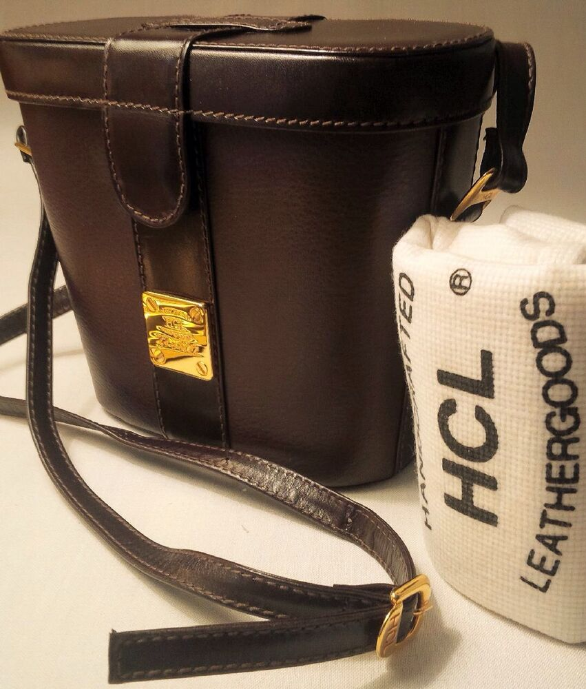 Hcl handcrafted leather goods - Nwot Hcl Handcrafted Leathergoods Camera Bag Shoulder Bag Brown Made In Germany Ebay