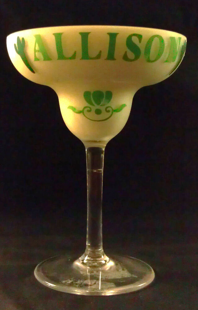 Personalized acrylic or glass margarita glass adorable ebay for Glass or acrylic
