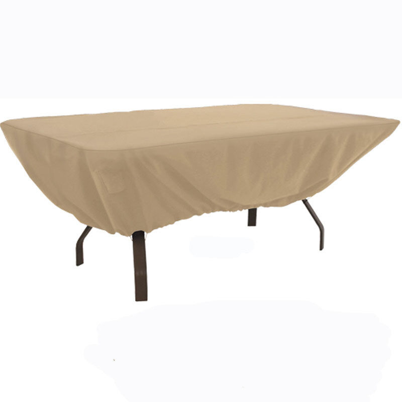 "Outdoor Patio Furniture Rectangle Table Winter Cover 72"" X 44"""