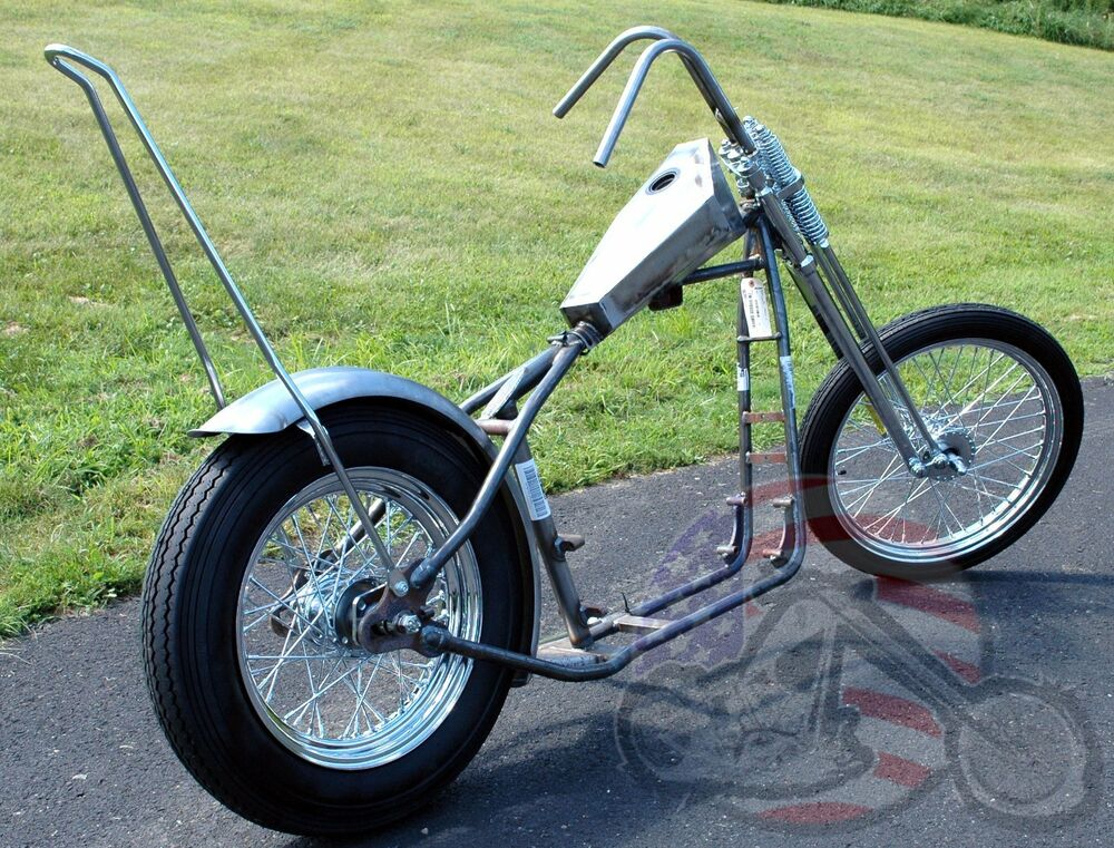 Groovy Chopper Narrow Springer Paughco Rigid Frame Sportster Rolling ...