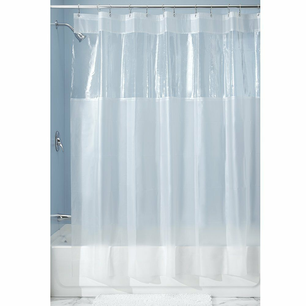 ... Hitchcock Window Eva Clear Frosted Vinyl Shower Curtain 19413 | eBay