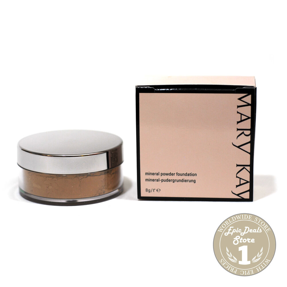 Mary Kay Mineral Powder Foundation Color Chart
