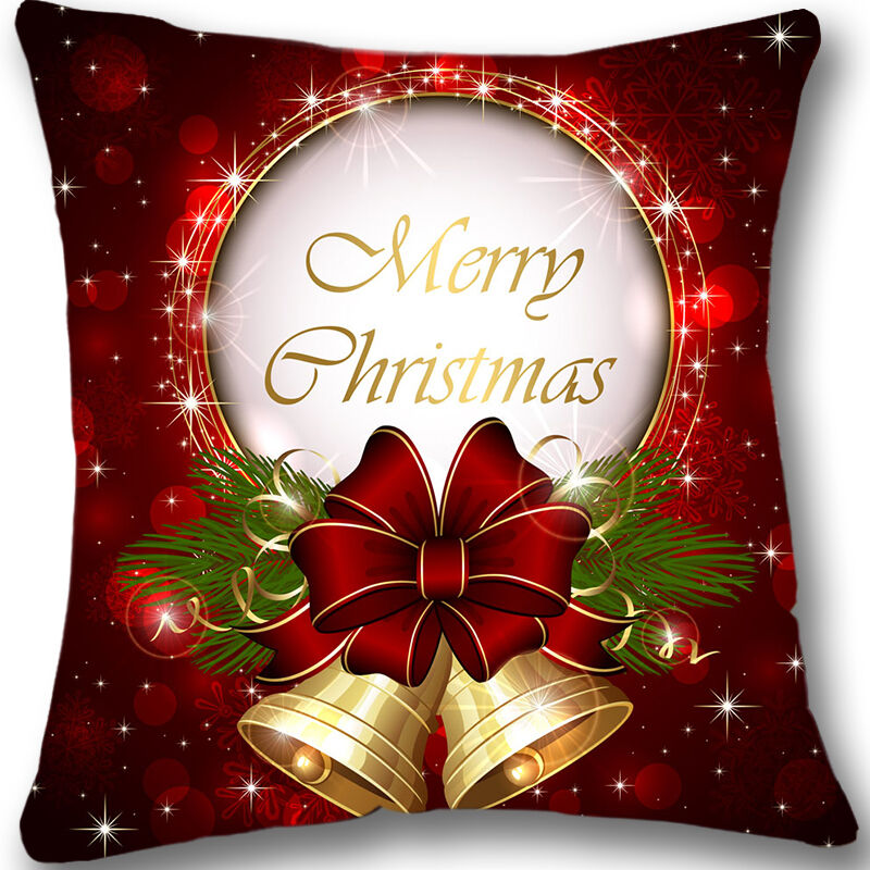 Christmas Custom Zippered 18x18 Cushion Cover Case