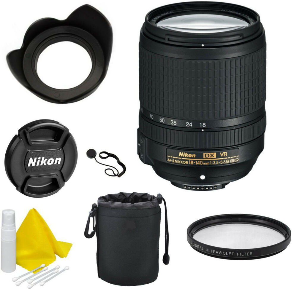 nikon af s dx nikkor 18 140mm f 3 5 5 6g ed vr lens celltime kit 18208022137 ebay. Black Bedroom Furniture Sets. Home Design Ideas