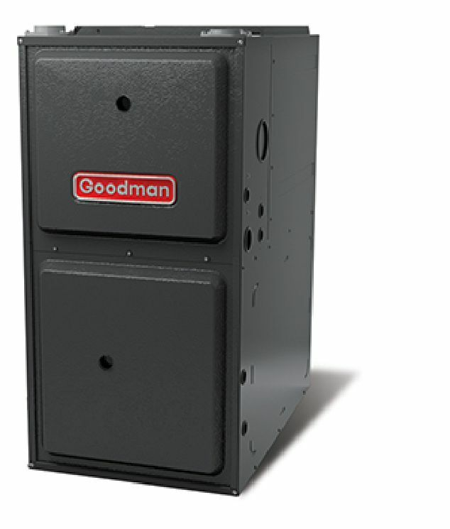 Goodman gmvc 96 2 stage variable speed gas furnace ebay for How to choose a gas furnace