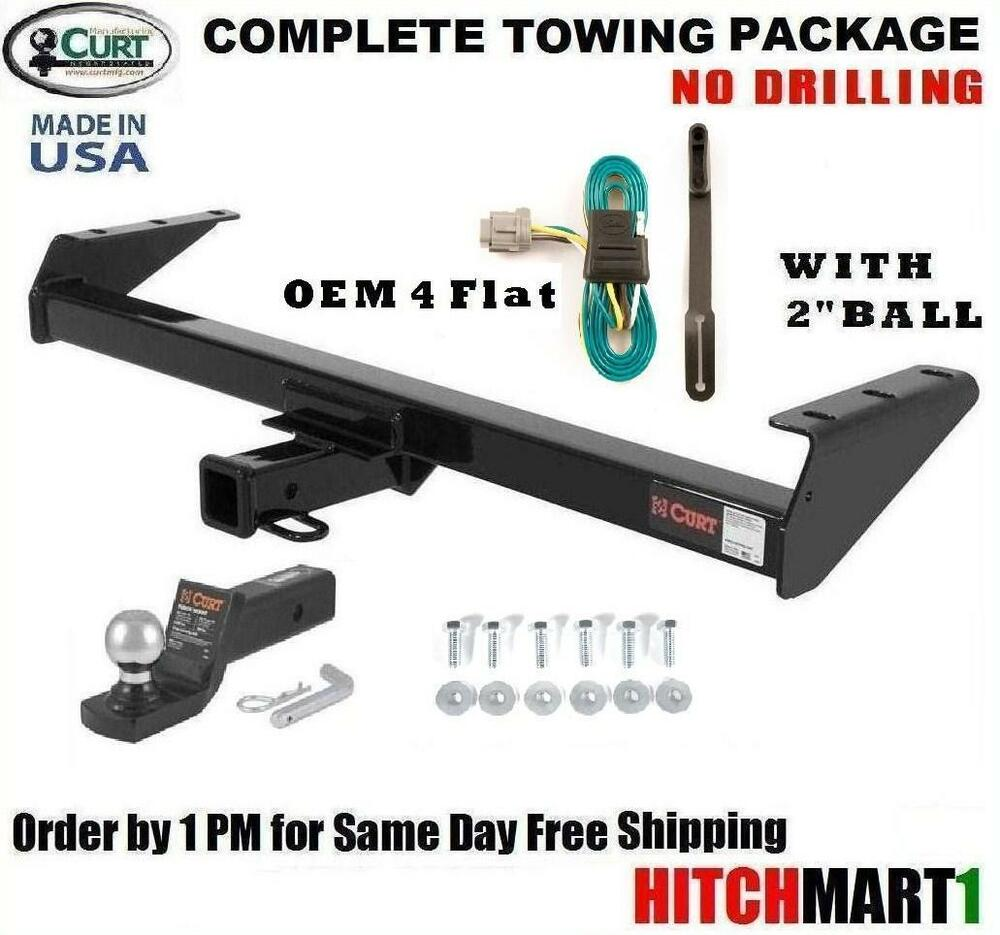 class 3 trailer hitch package for 2005 2016 nissan frontier w tow pkg 13241 ebay