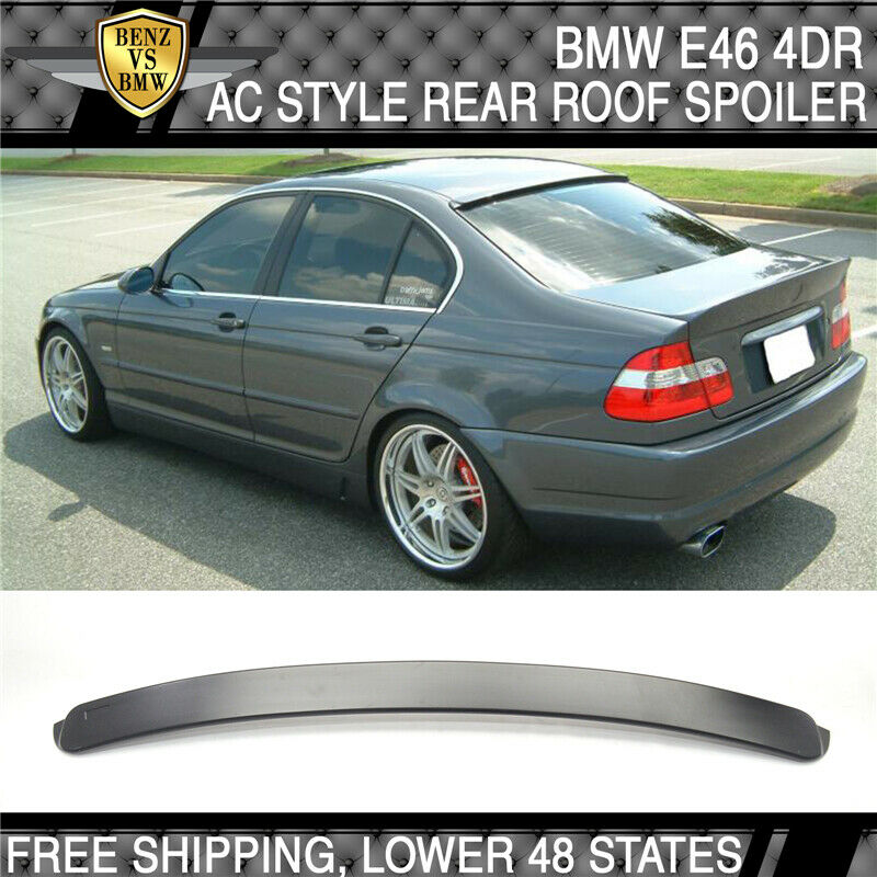 1999-2005 BMW E46 3 Series 4Dr AC Style Unpainted Roof