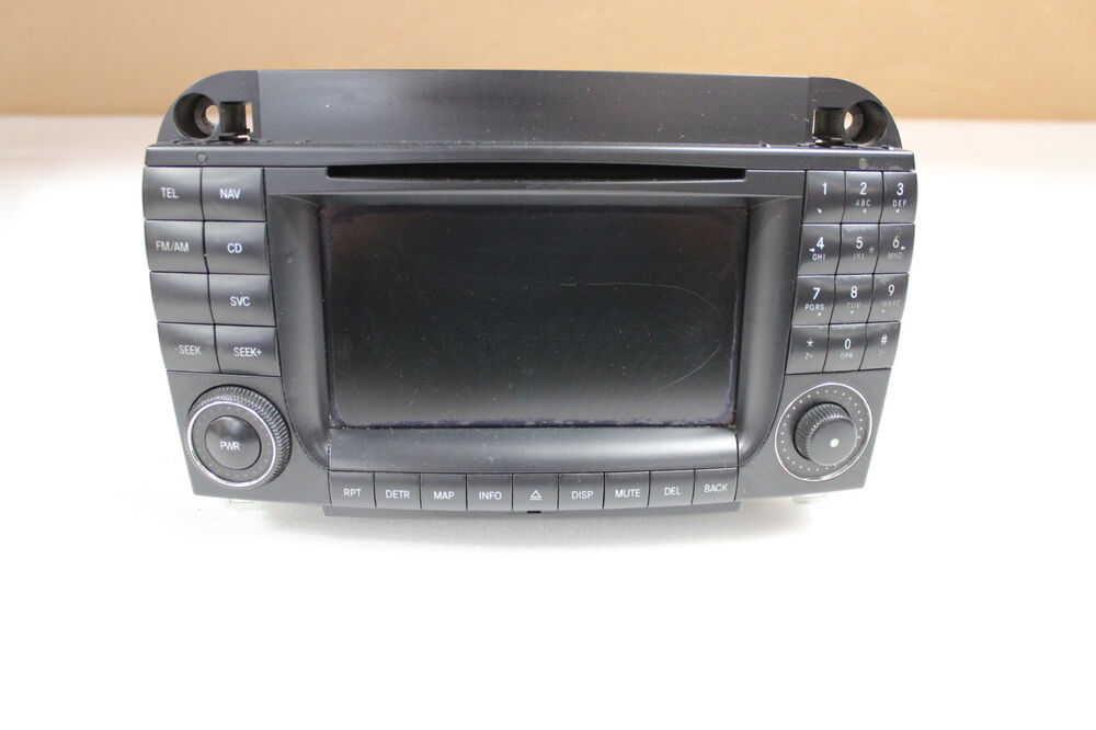 w220 w215 mercedes navigation head unit stereo comand. Black Bedroom Furniture Sets. Home Design Ideas