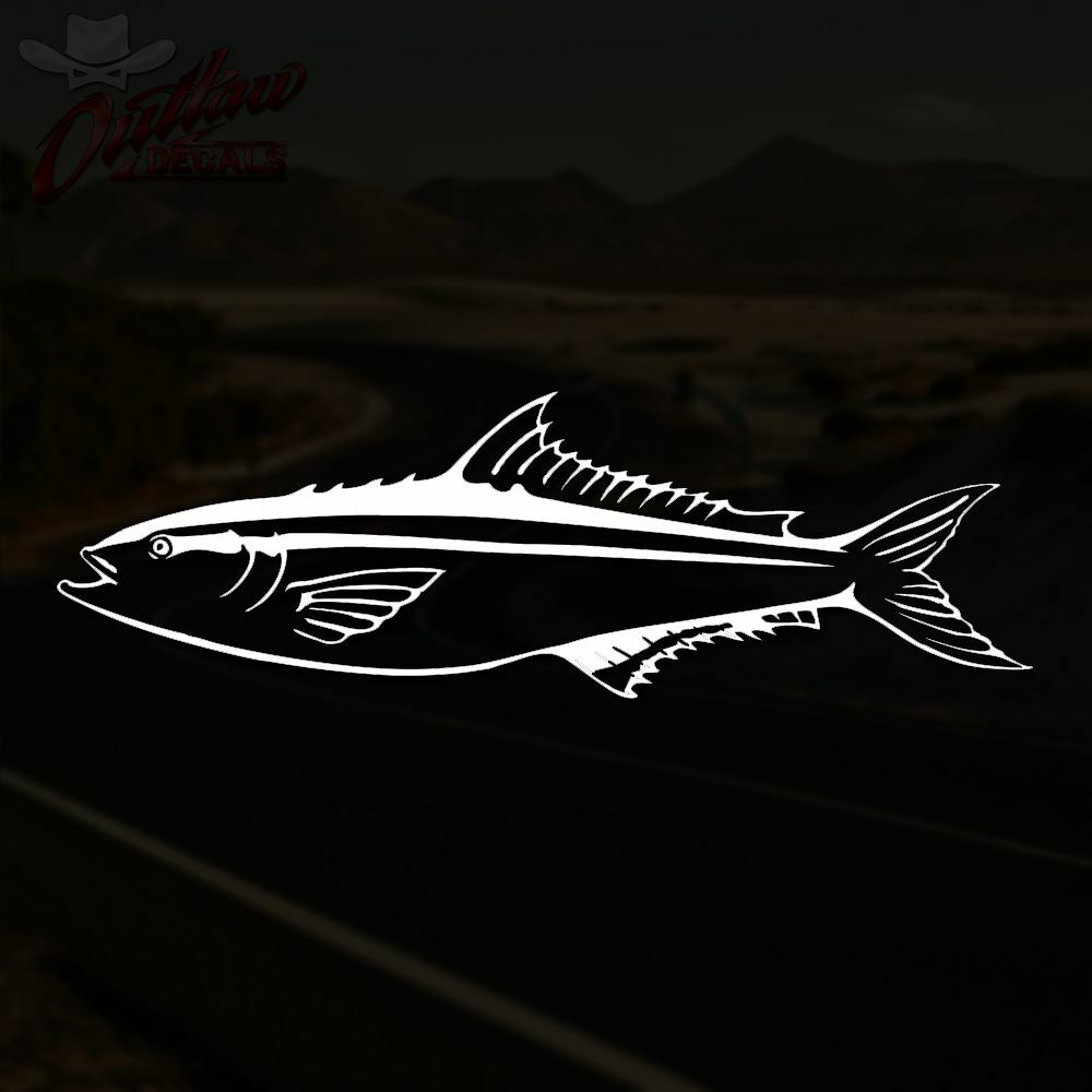 Cobia decal ling saltwater offshore fishing sticker pick for Saltwater fishing decals