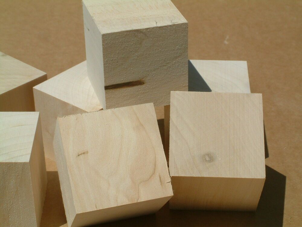 Craft blocks bulk 2x2x2 50 basswood cubes block turning for Where to buy wood blocks for crafts