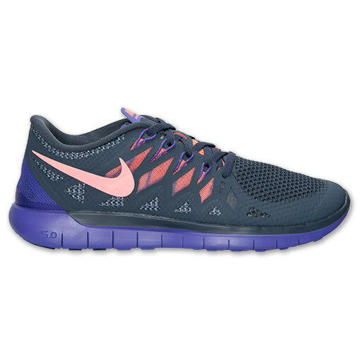 9b9b2bb9c722 Details about New Nike Women s Free 5.0 Running Shoes (642199-004) Dark  Magnet Grey Mango