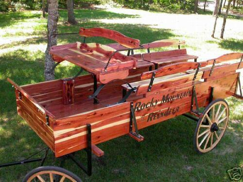 Buckboard horse drawn cart pony buggy covered wagon donkey for Covered wagon plans