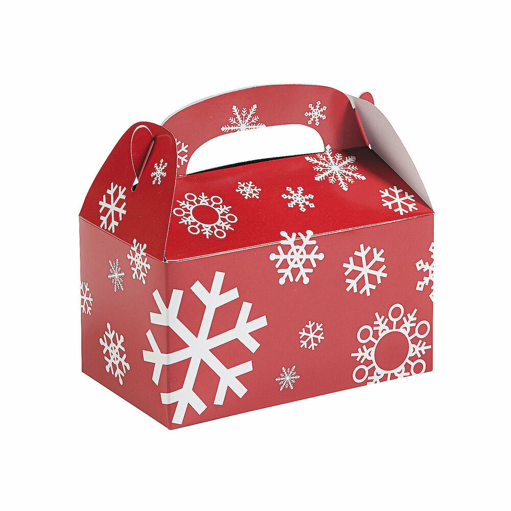 Christmas party favor gift sweets cookie treat boxes