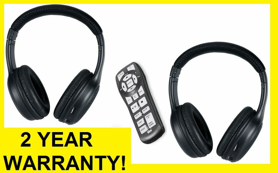 HEADPHONES & REMOTE Chrysler Town and Country SINGLE DVD SYSTEMS 2006 - Newer | eBay