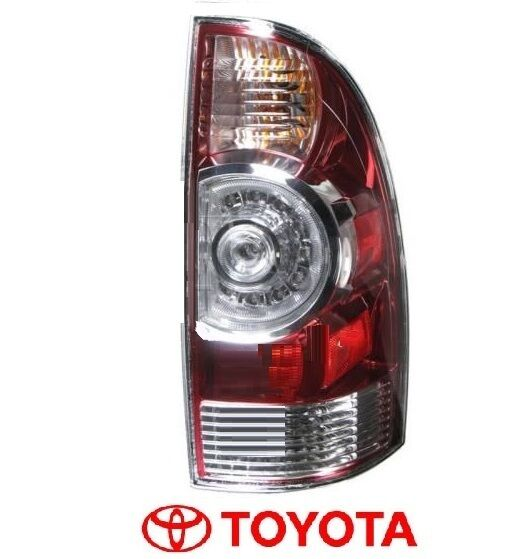 toyota tacoma right rear passenger tail light taillight led genuine. Black Bedroom Furniture Sets. Home Design Ideas