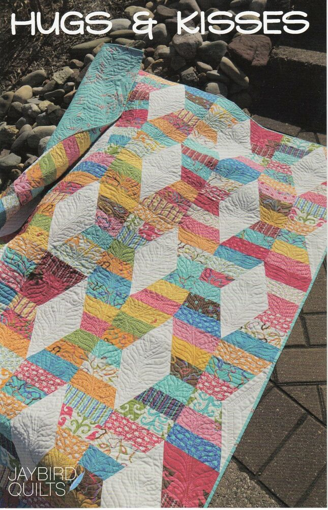 Hugs Amp Kisses Quilt Pattern Jaybird Uses Creative