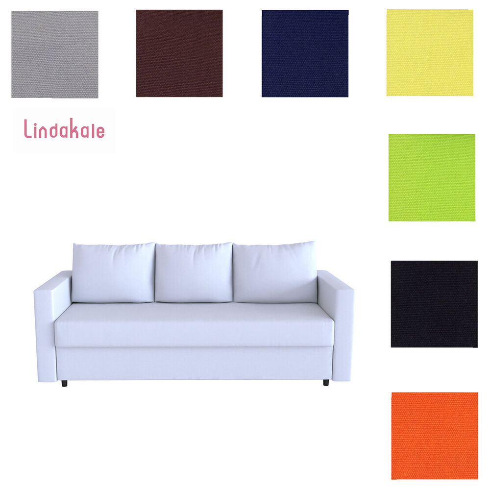 custom made cover fits ikea friheten sofa bed three seat sofa bed cover ebay. Black Bedroom Furniture Sets. Home Design Ideas