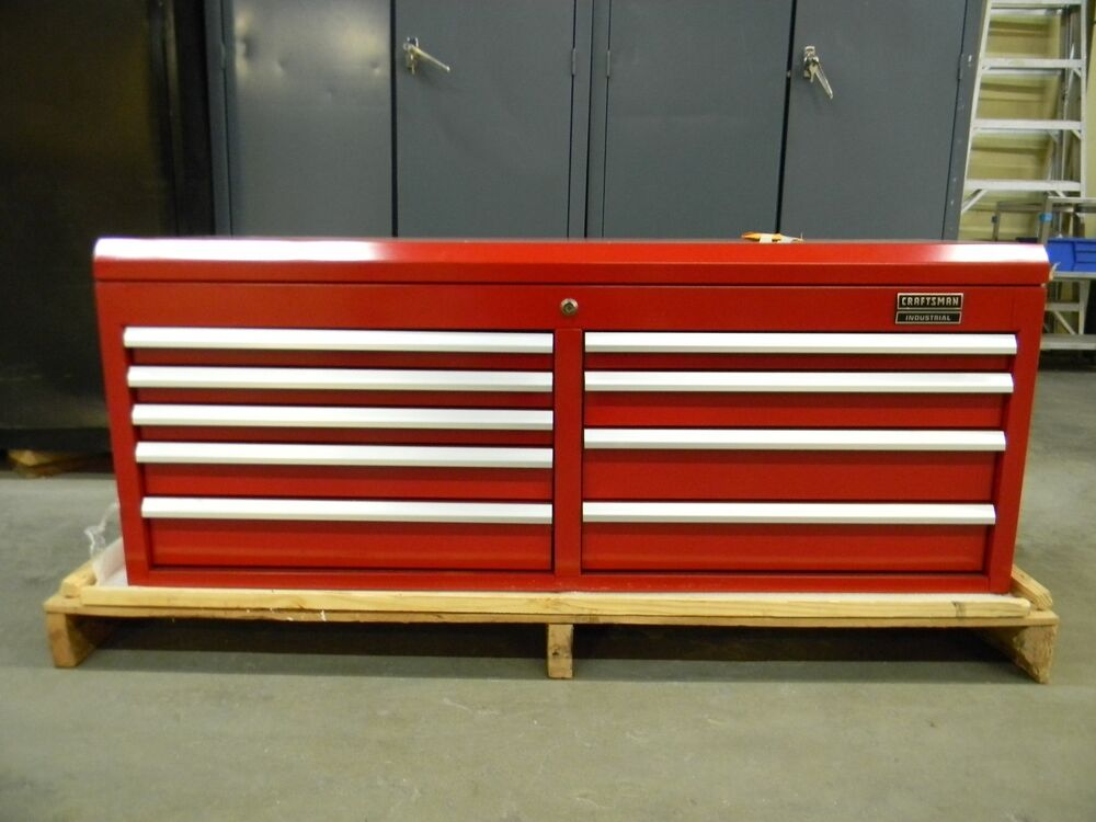 52 Quot Craftsman Industrial 9 Drawer Tool Storage Chest Box
