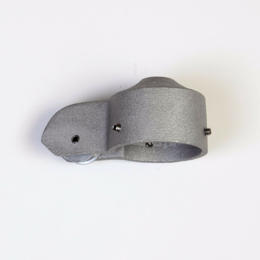Flagpole Truck Pulley 2 Quot Inch Silver Cap Style Stationary