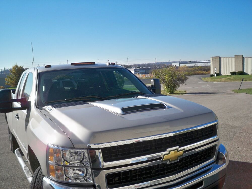 razzi 2003 2004 2005 2006 2007 chevy silverado hood scoop unpainted ebay. Black Bedroom Furniture Sets. Home Design Ideas