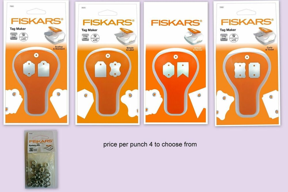 how to use a fiskars eyelet setter