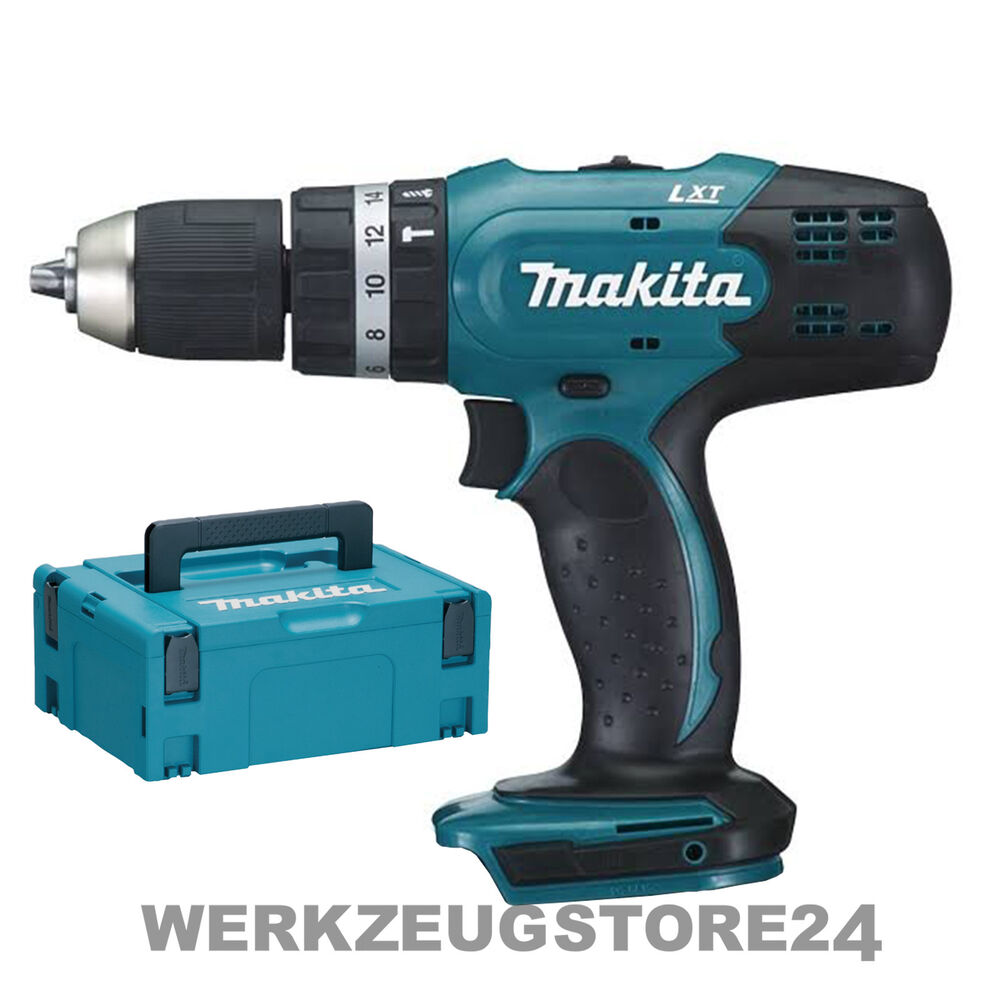 makita dhp453zj akku schlagbohrschrauber 18v solo im makpac dhp453 ebay. Black Bedroom Furniture Sets. Home Design Ideas