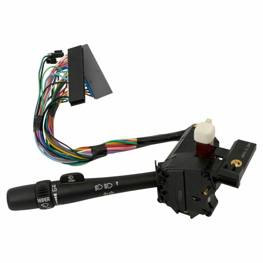 Chevy Turn Signal Lever Replacement : Wiper turn signal lever dimmer beam switch for silverado