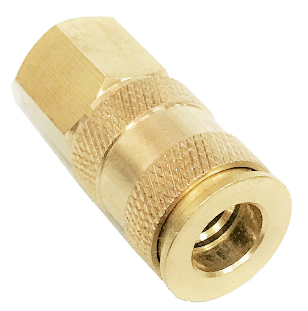 Quot solid brass female universal quick coupler ebay