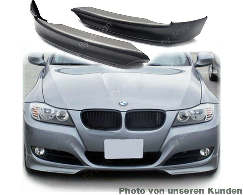 f r bmw e90 e91 2008 12 lci frontspoiler spoiler front. Black Bedroom Furniture Sets. Home Design Ideas