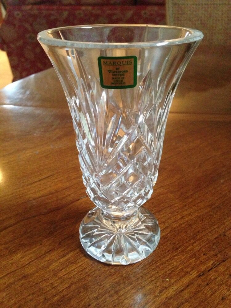 Waterford Irish Crystal Marquis Leana Style 6 Inch Cut