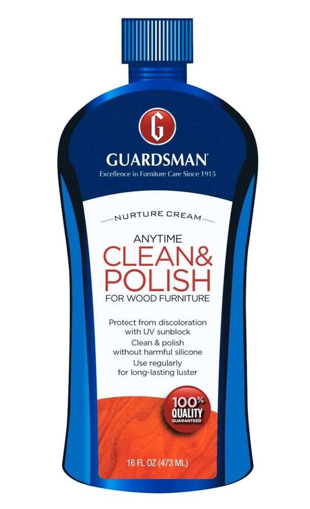 Clean Amp Polish Wood Furniture Cream Polish Uv Protect Wax