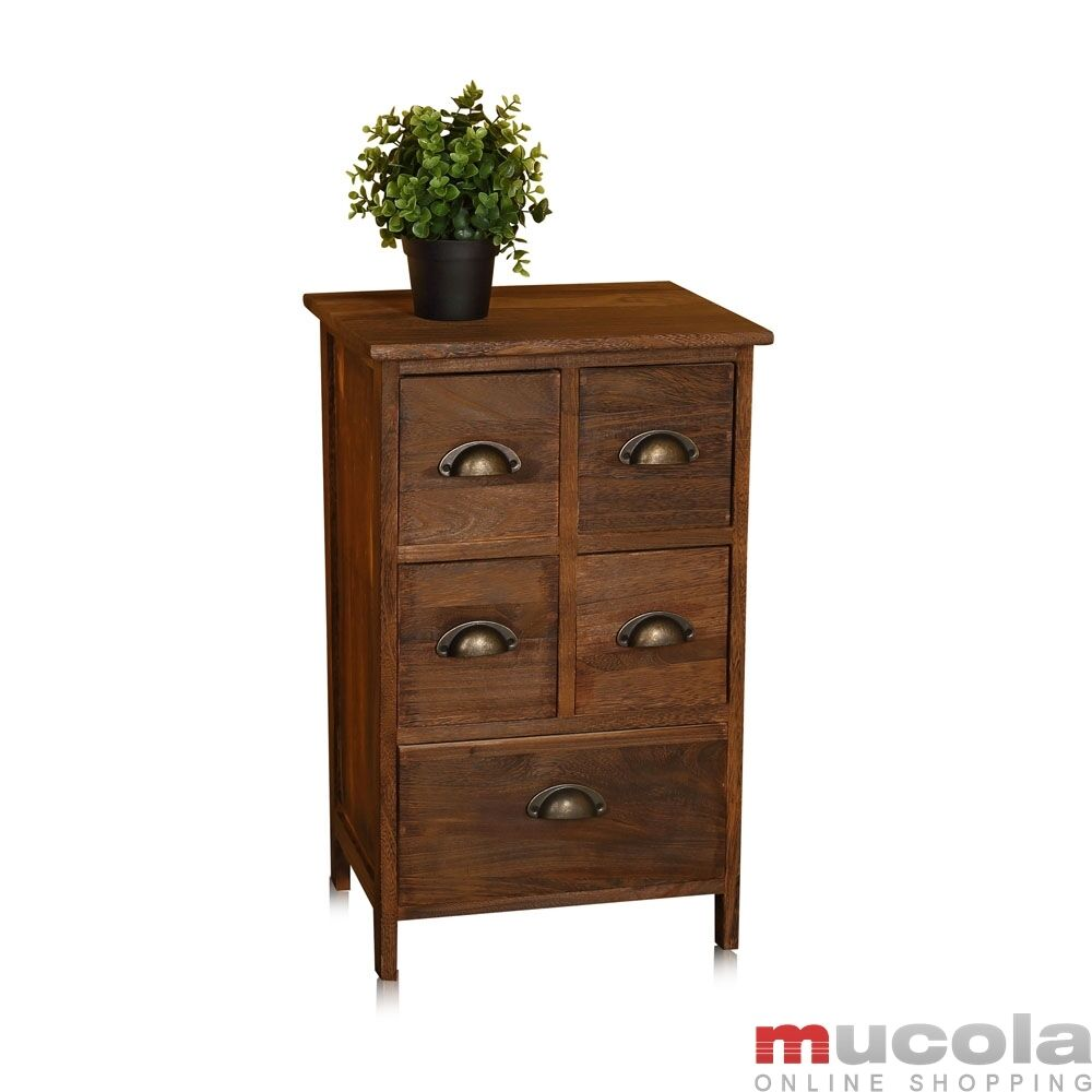 vintage kommode schrank regal sideboard holz nachttisch. Black Bedroom Furniture Sets. Home Design Ideas